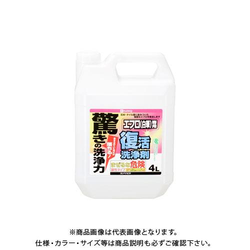 カンペハピオ 復活洗浄剤 エフロ用 4L 00017660061040