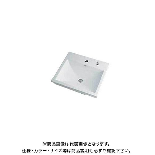 カクダイ 角型洗面器 493-003H