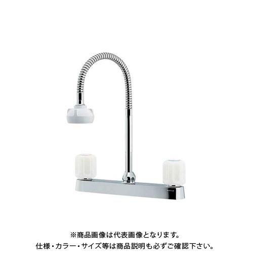 カクダイ 2ハンドル混合栓(シャワ付) 151-008