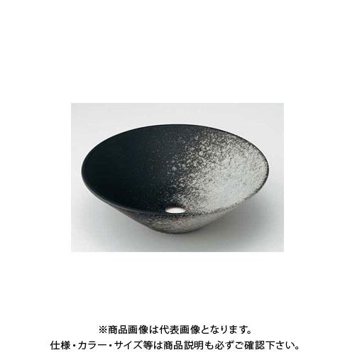 カクダイ 丸型手洗器/白窯肌 493-037-D1