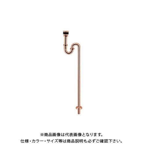 カクダイ 丸鉢付Sトラップ 433-317-25