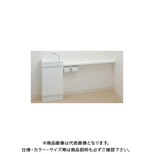カクダイ 手洗カウンター 497-504-W