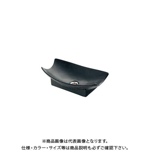 カクダイ 舟型手水鉢 砂鉄 624-935