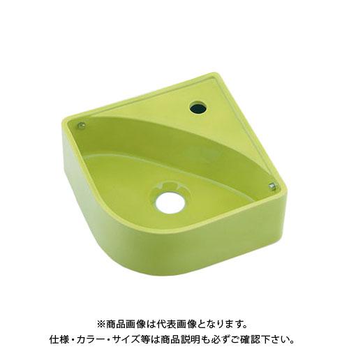 カクダイ 壁掛手洗器イエローグリーン 493-150-YG