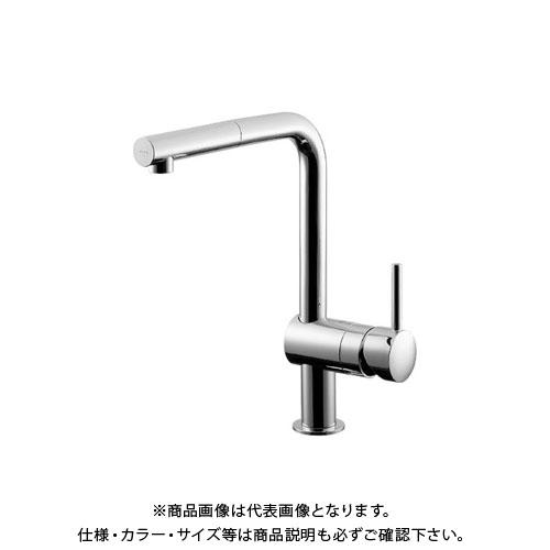 グランドセール #GR-3216800J:工具屋「まいど!」 Jシングルレバー引出混合栓 カクダイ-木材・建築資材・設備