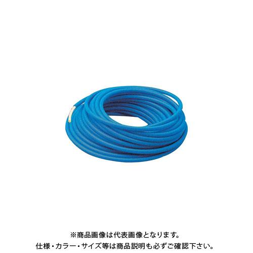 カクダイ サヤ管つき架橋ポリエチレン管(赤) 50m 672-133-30R