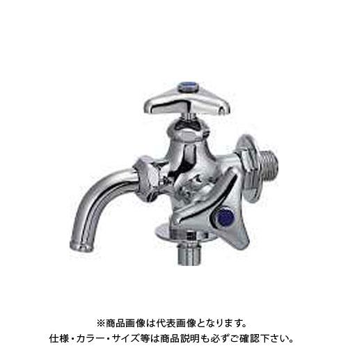 カクダイ 洗濯機用双口水栓 704-108K-13