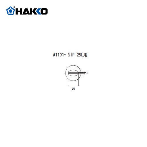 【納期約3週間】白光 HAKKO FR-801、FR-802、FR-903B用 ノズル A1191