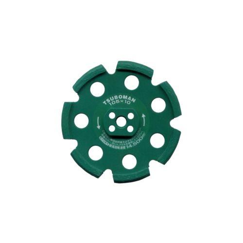ツボ万 ネジ込み式目地切りカッターNEO TB-11068-NEO-105×10.0(V)