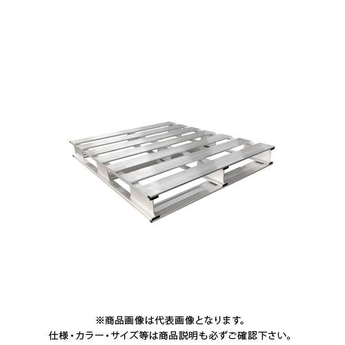 【長谷川決算セール2019】【直送品】ハセガワ 長谷川工業 組立式アルミパレット(両面) AP42-1111
