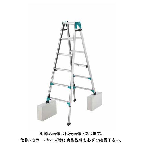 【2019 ハセガワ春市】【直送品】長谷川工業 ニューラビット はしご兼用脚立 RYH-18