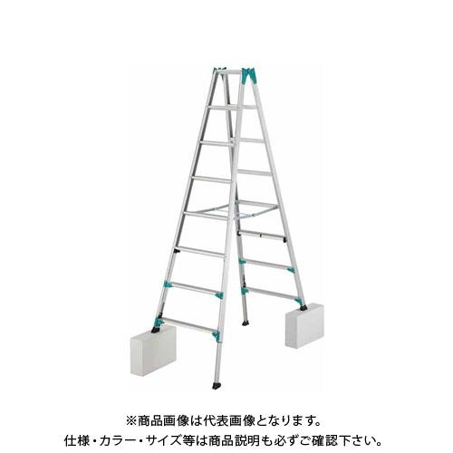 【2019 ハセガワ春市】【直送品】長谷川工業 ニューラビット はしご兼用脚立 RYH-24