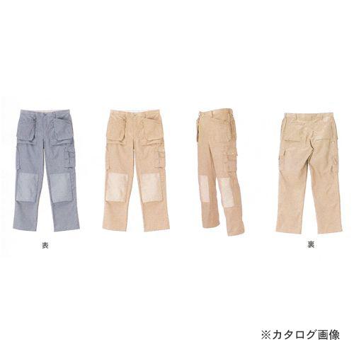 広島 HIROSHIMA フロアーワークパンツ グレー 52 781-18