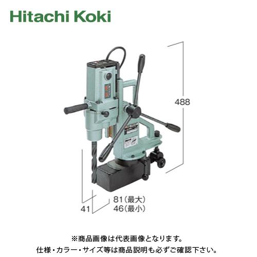 【運賃見積り】【直送品】日立工機 HITACHI 磁気ボール盤 鉄工25mm 100V ターンテーブル付 BM25-A1