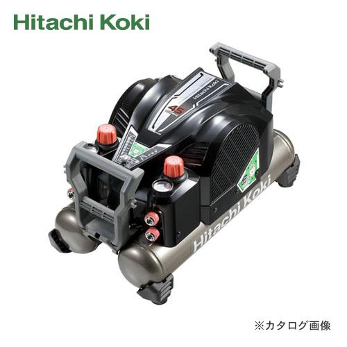 日立工機 HITACHI 釘打機用エアコンプレッサ セキュリティ機能付 高圧釘打機専用 EC1445H2(S)