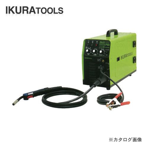 育良精機 イクラ 100/200V兼用インバータ制御半自動溶接機 ISK-SA160W