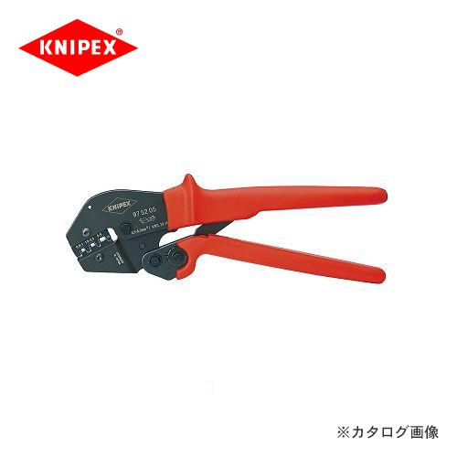 クニペックス KNIPEX 97クリンピングプライヤー 9752-05