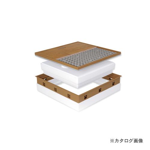 城東テクノ Joto 高気密型床下点検口 (高断熱型450×600mm) クッションフロア対応 アイボリー (1セット) SPF-R45C-BL2-IV