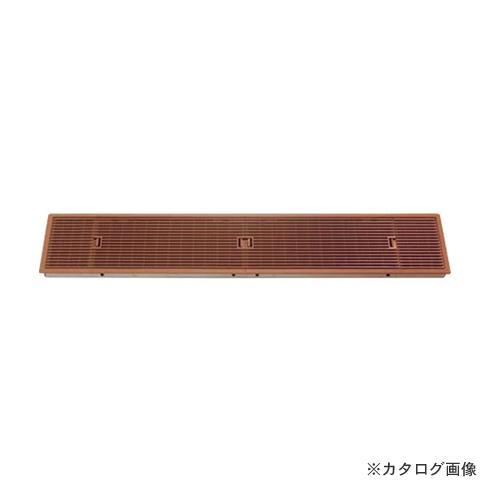 城東テクノ Joto ルームガラリ (風量調節機能なし) 807×165×26.5mm ダークブラウン (2コ) YV-15079-DB