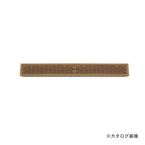 城東テクノ Joto ルームガラリ 624.5×90×26.5mm ダークブラウン (4コ) YV-7560-DB
