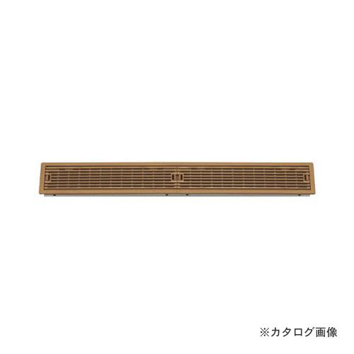 城東テクノ Joto ルームガラリ 624.5×90×26.5mm ミディアムブラウン (4コ) YV-7560-MB