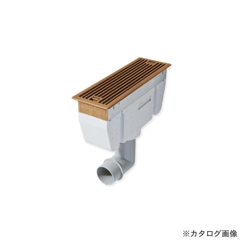 城東テクノ Joto チャンバー付ルームガラリ 274×90×246mm ダークブラウン (4台) YV-C7530-DB