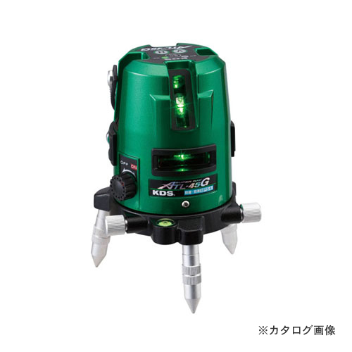ムラテックKDS ATL-45GRSA グリーンレーザー墨出器 受光器・三脚