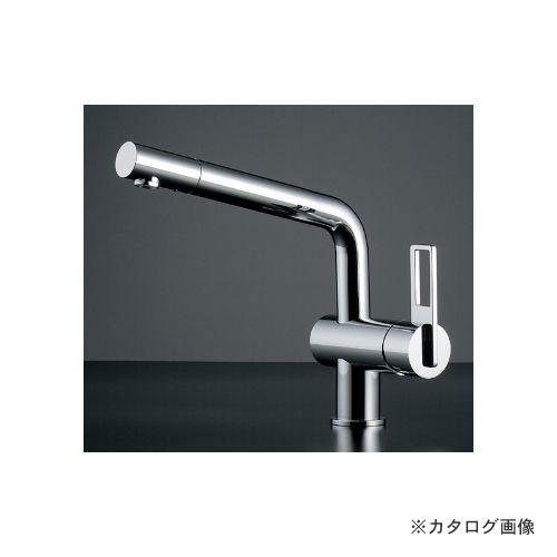 カクダイ KAKUDAI シングルレバー混合栓 117-028