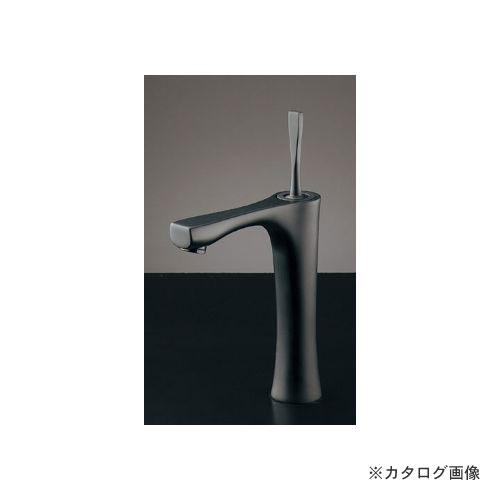 カクダイ KAKUDAI シングルレバー混合栓(トール・マットブラック) (旧品番:183-239GN) 183-233GN-D