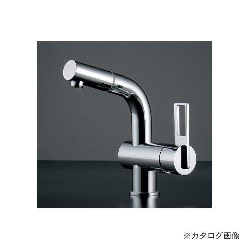 カクダイ KAKUDAI シングルレバー引出し混合栓 184-013K