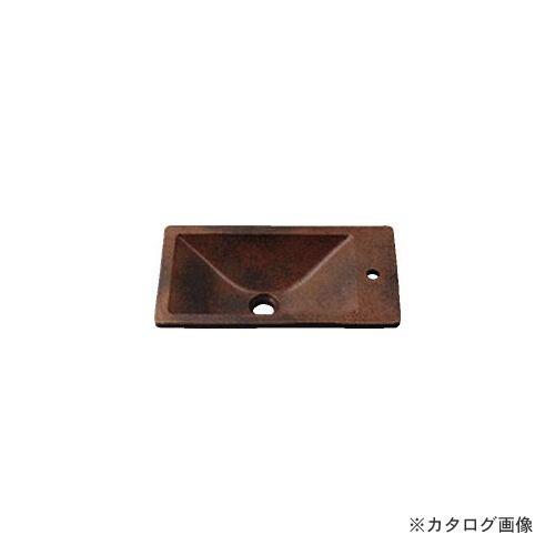 カクダイ KAKUDAI 角型手洗器//窯肌 493-010-M