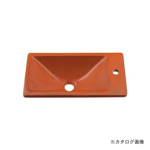 カクダイ KAKUDAI 角型手洗器//鉄赤 493-010-R