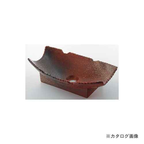 カクダイ KAKUDAI 舟型手洗器//古幻 493-027-M1
