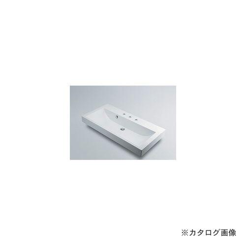 カクダイ KAKUDAI 角型洗面器//3ホール 493-071-1000