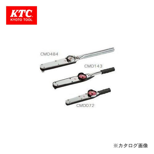 KTC 9.5sq. ダイヤル型トルクレンチ CMD072