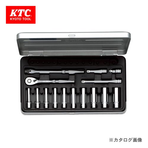 KTC 6.3sq. ディープソケットレンチセット(15点) TB2L10