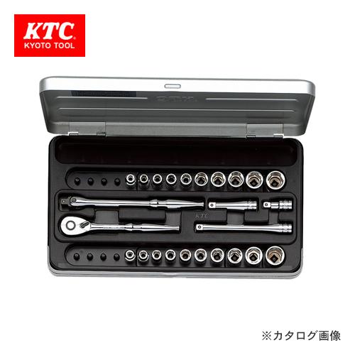KTC 6.3sq. ソケットレンチセット(25点) TB2X20B