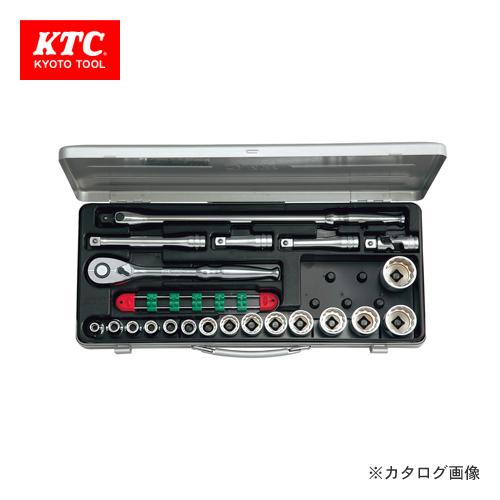 KTC 12.7sq. ソケットレンチセット(21点) TB415BX