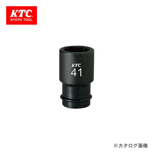 KTC 25.4sq. インパクトレンチ用ソケット(ディープ薄肉) ピン・リング付 BP8L-55TP