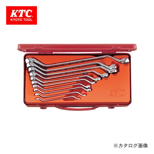 KTC 45°ロングめがねレンチセット(10本組) M2510