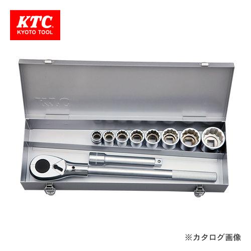 KTC 19.0sq.ソケットレンチセット[10点] TB610A