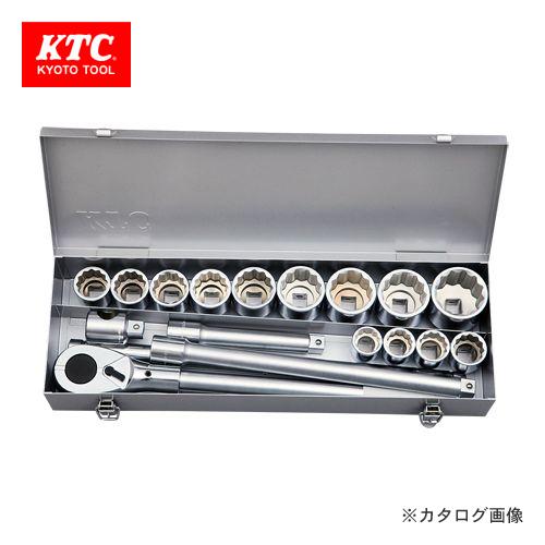 KTC 19.0sq.ソケットレンチセット[18点] TB618BA