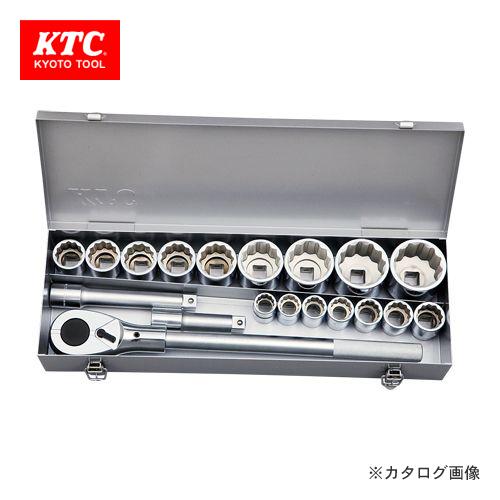 KTC 19.0sq.ソケットレンチセット[19点] TB619A