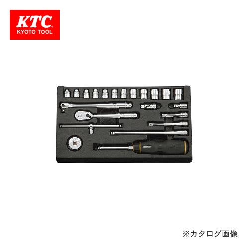 ネプロス NTB222XA ソケットレンチセット KTC