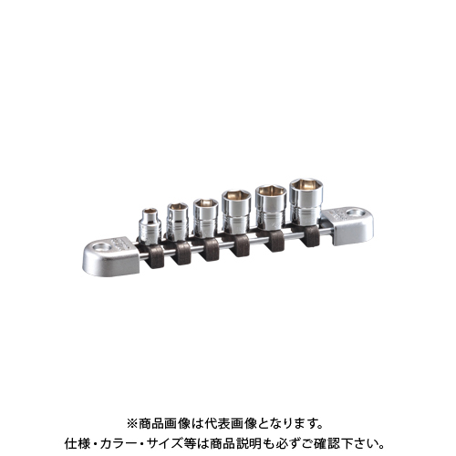 KTC ネプロス 6.3sq.ソケットセット(六角)[6コ組] NTB206A