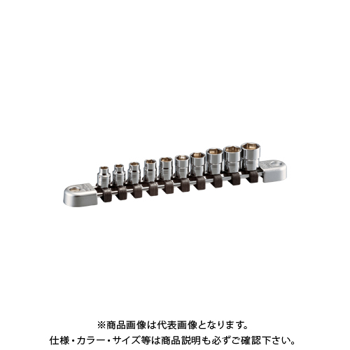 KTC ネプロス 6.3sq.ソケットセット(六角)[10コ組] NTB210A