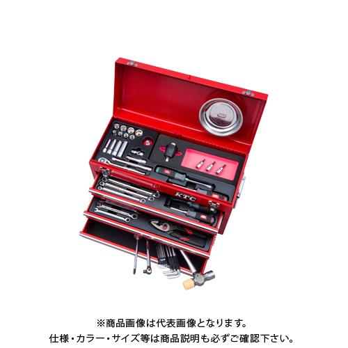 KTC 工具セット(トルクルモデル) 9.5sq. レッド SK3570XTQ