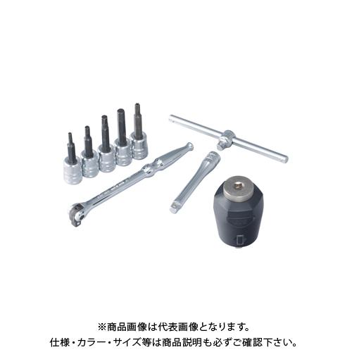 KTC 計測機器 6.3sq.ビットソケットレンチセット トルクルモデル[9点] TB209TQ