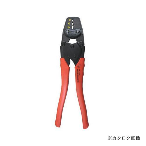 エビ 圧着工具 絶縁被覆付閉端接続子用 AK28A