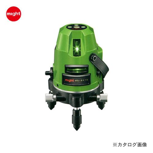 【イチオシ】マイト工業 グリーンレーザー墨出し器 MG-841G 本体のみ